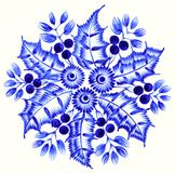 Folk ornament. High resolution, hand drawn illustration in Ukrainian folk style Stock Images