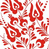 Folk ornament pattern Stock Photo
