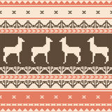 Folk ornamental pattern Stock Image