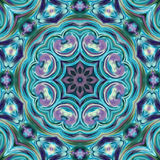 Folk ornamental textile seamless pattern background Stock Images