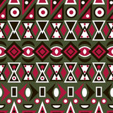 Folk ornamental textile seamless pattern background Royalty Free Stock Photos