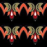Folk ornamental textile seamless pattern texture background Stock Photos