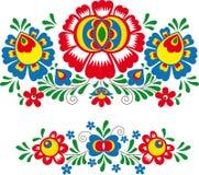 Folk ornaments vector illustration