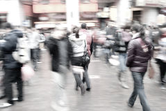 Folk på gatan Arkivbilder