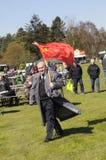 FOLK PÅ 1ST MAJ 2018 CELEBRAION LABOUR DAG Royaltyfria Bilder
