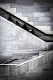Folk på trappuppgång i den östliga byggnaden av National Gallery Arkivbilder