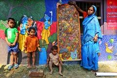 Folk Painter Royalty Free Stock Image