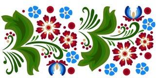 Folk-pattern2 Стоковое Изображение