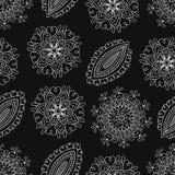 Folk pattern-03 royaltyfri illustrationer
