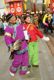 Folk performance Stock Images