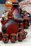 Folk pottery 1 Royalty Free Stock Photography