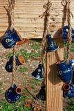 Folk pottery stock photography
