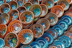 Folk pottery 7 stock photography
