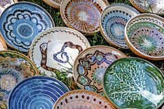 Folk pottery 12 Royalty Free Stock Photo