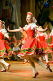 Folk Russian dance Stock Photos