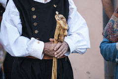 Folk of Sardinia Stock Photos