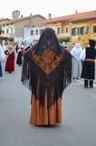 Folk of Sardinia Stock Image