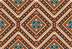 Folk seamless pattern ornament. Ethnic ornament Stock Photography
