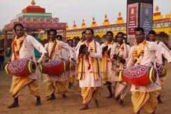 Folk singers live performance Royalty Free Stock Photo