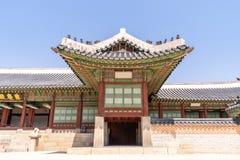 folk slott för national för gyeongbokgungkorea museum Fotografering för Bildbyråer