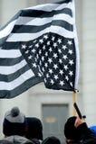 Folk som protesterar mot invandringlagar Royaltyfri Fotografi