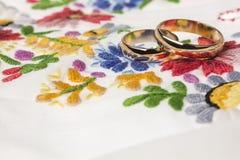 folk stilbröllop för bakgrund Royaltyfri Fotografi