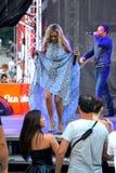 Folk stjärna Maria för Bulgarienpop Royaltyfri Foto