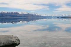 Folk ström, Nya Zeeland Arkivbilder