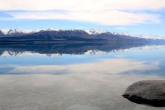 Folk ström, Nya Zeeland Fotografering för Bildbyråer