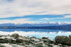 Folk stream, Newzealand stock image