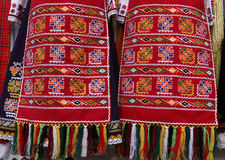 Folk-style costumes from Bulgaria Royalty Free Stock Image