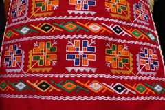 Folk-style costumes from Bulgaria Royalty Free Stock Images