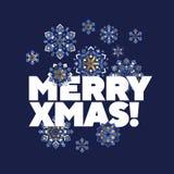 Folk style snowflakes Christmas decorative motif. Luxury xmas snowflakes geometric illustration winter design projects, office party invitation, postcards vector illustration