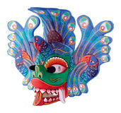 Folk Theatre Mask Stock Image