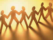 folk tillsammans Royaltyfri Foto