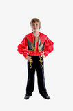 Folk traditional carnival costume Royalty Free Stock Photography
