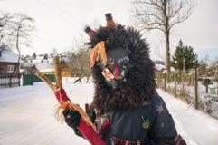 Folk traditions at Christmas Royalty Free Stock Photography