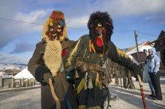 Folk traditions at Christmas Royalty Free Stock Photo