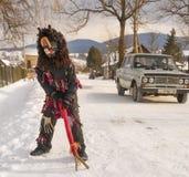 Folk traditions at Christmas Royalty Free Stock Photos