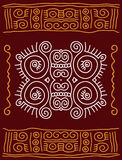 Folk, Tribal Design Stock Photo