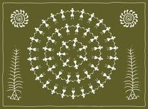 Folk, tribal Designs Stock Image