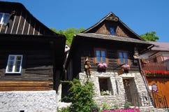 Folk village architecture stock images