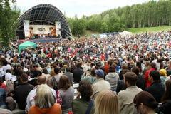 folk wild mintmusik för festival Royaltyfria Bilder