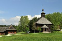 Folk Wooden Architecture royalty free stock photos