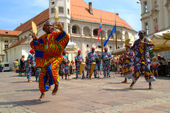 Folkart, festival emprestado, Maribor imagens de stock royalty free