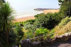 Folkestone Beach and Zig-Zag Path Kent UK Royalty Free Stock Photo