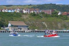 Folkestone coast England Stock Image