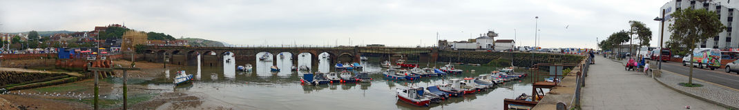 Folkstone harbour Royalty Free Stock Photography