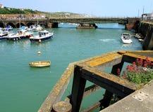 Folkestone-Hafen Stockfoto