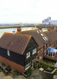 Folkestone Harbour England Stock Image